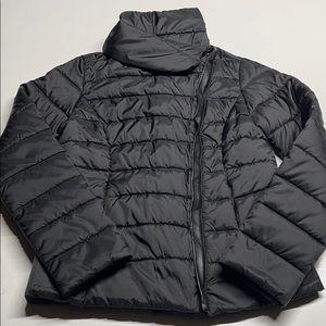 KRUSH Womens Medium Black Puffy Winter Coat